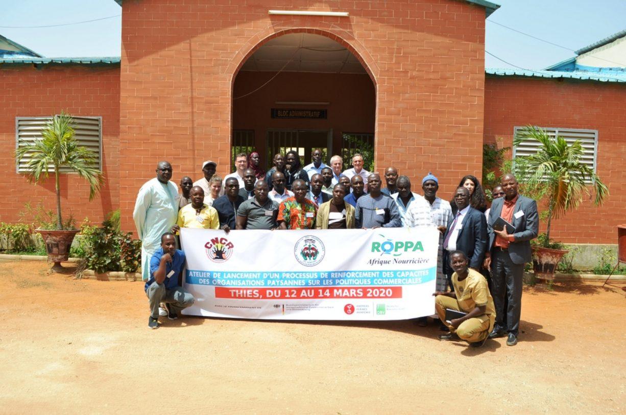 Projekt: Kompetenzentwicklung bäuerlicher Organisationen zur Agrarhandelspolitik