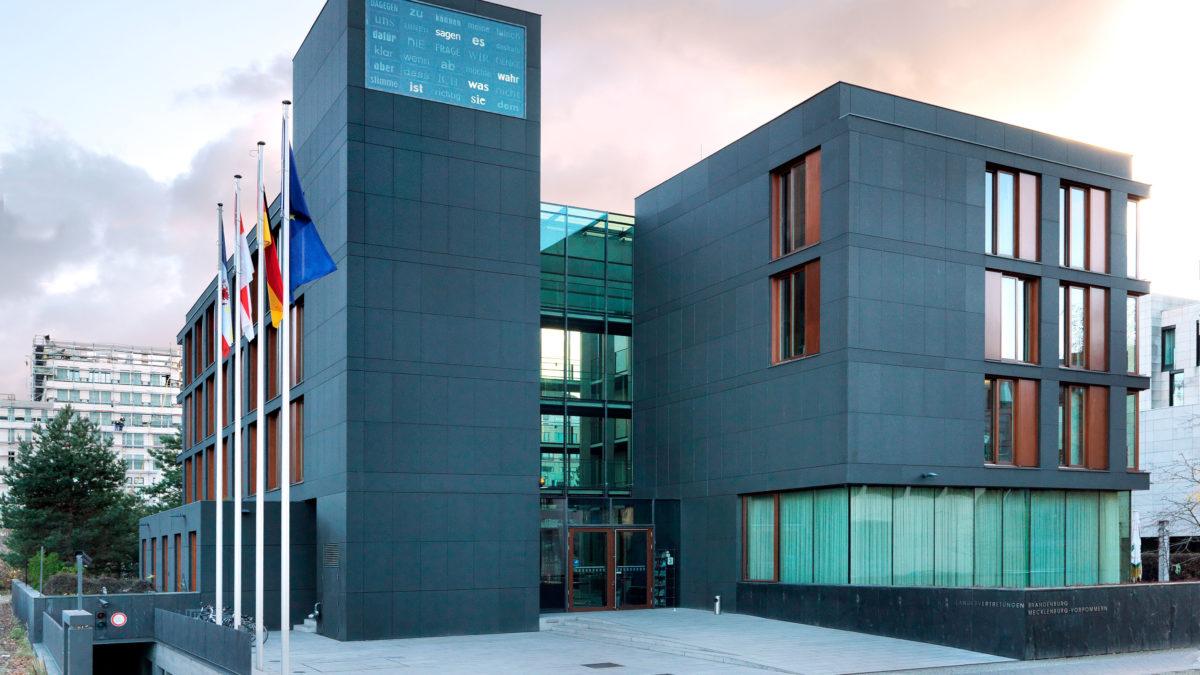 Sitz der Landesvertretung Mecklenburg-Vorpommern