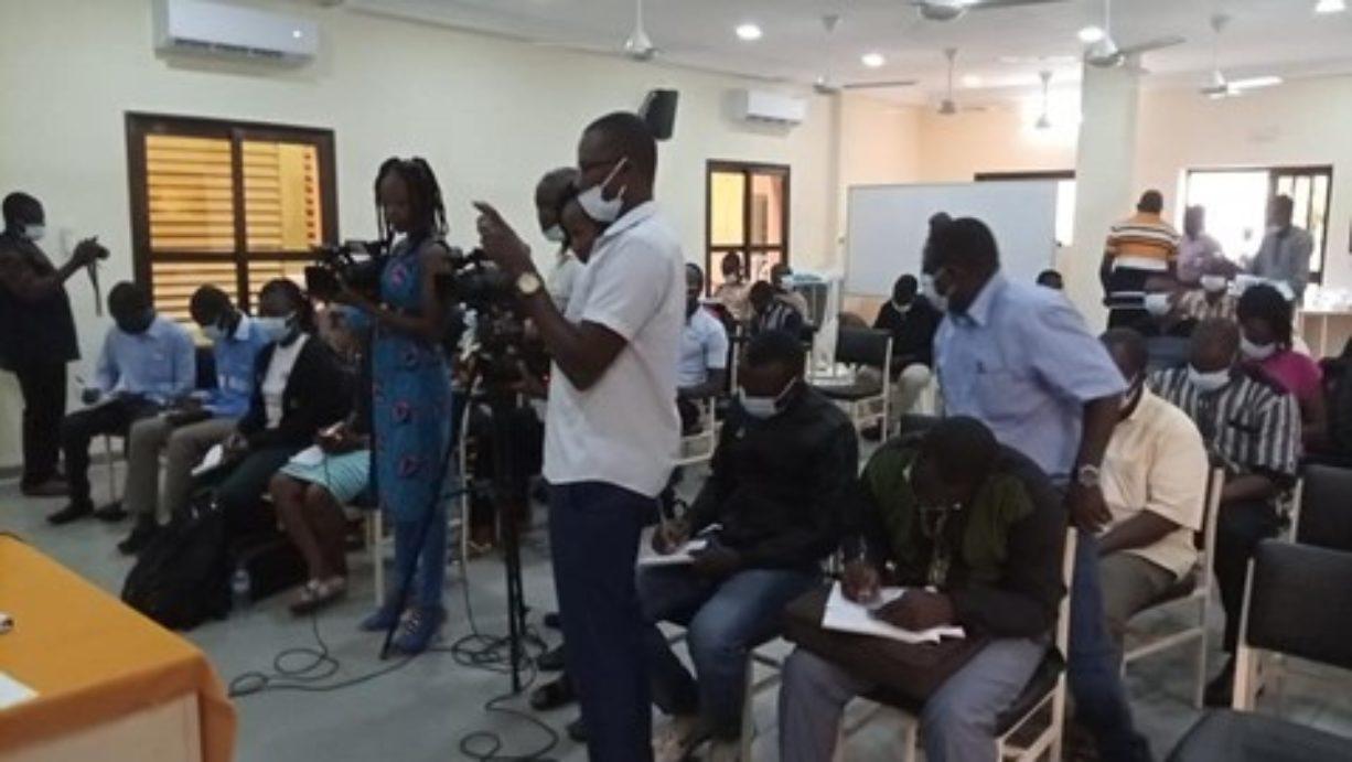 Öffentliche Pressenkonferenz von ROPSA-B