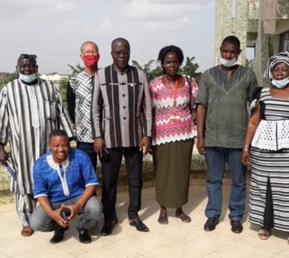 Audienz beim Sonderberater für die ländliche Entwicklung in Burkina Faso
