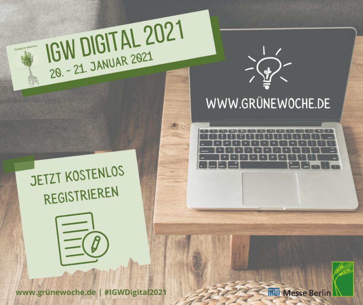Jetzt kostenlos für die IGW-Startup-Days registrieren!