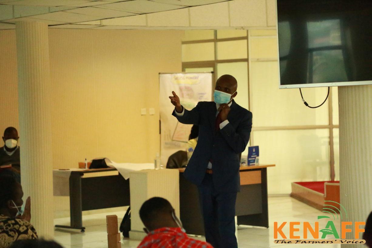 KENAFF CEO at AGM