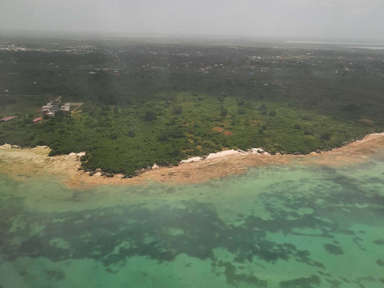 Sansibar aus der Luft