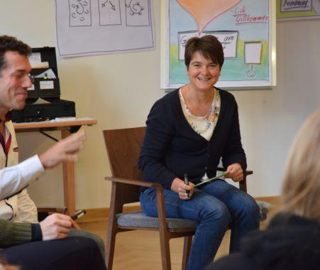 Katrin Mehner bei der Trainerausbildung 2019