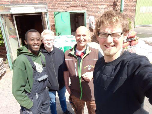 Das Team der Farm Thies